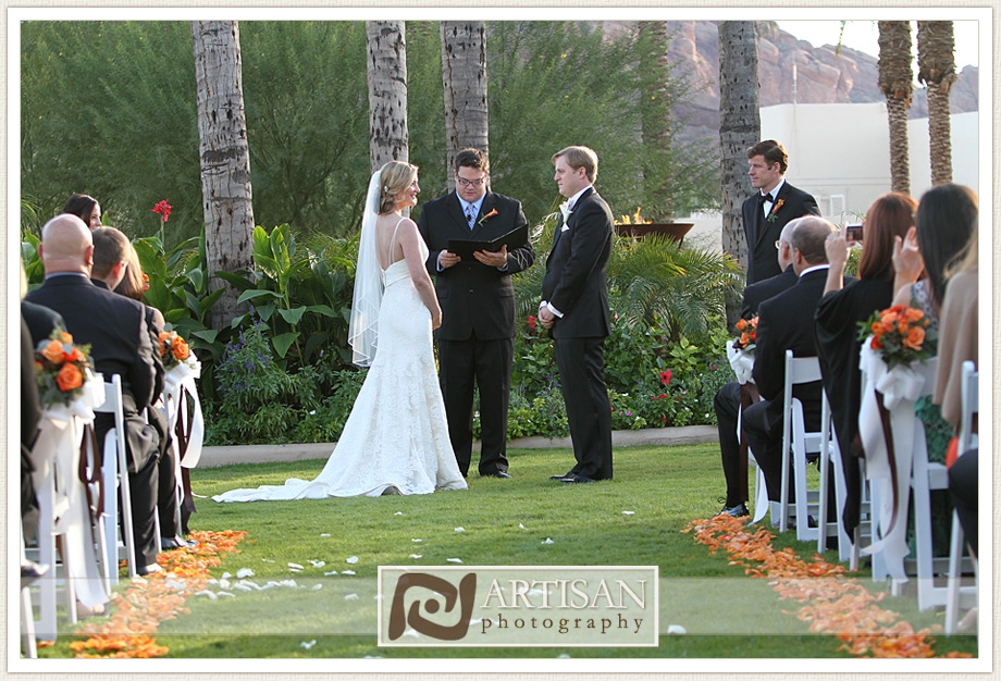 Camelback Inn Wedding Image of  wedding ceremony