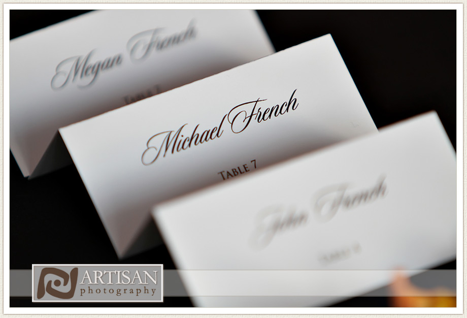 Camelback Inn Wedding Image of wedding details