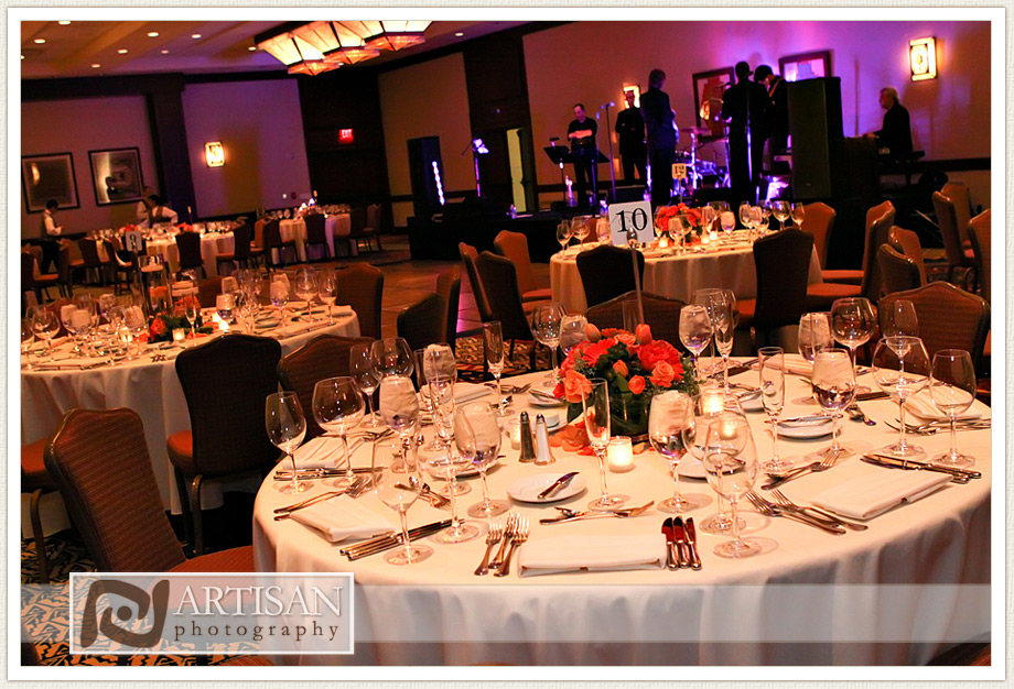 Camelback Inn Wedding Image of wedding reception tables