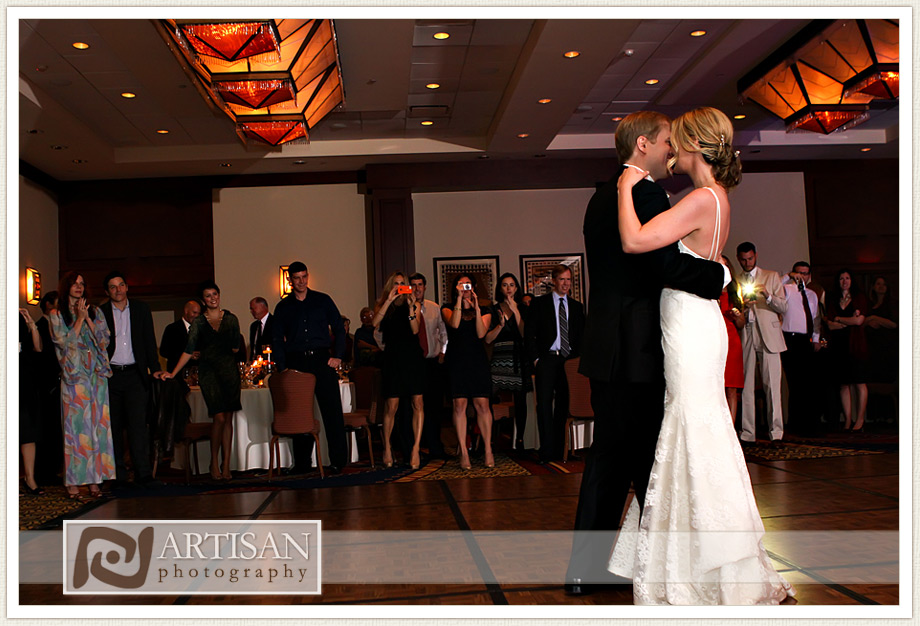 Camelback Inn Wedding Image of bride and groom first dance