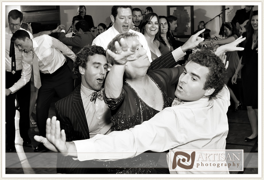 Camelback Inn Wedding Image of guests having fun dancing