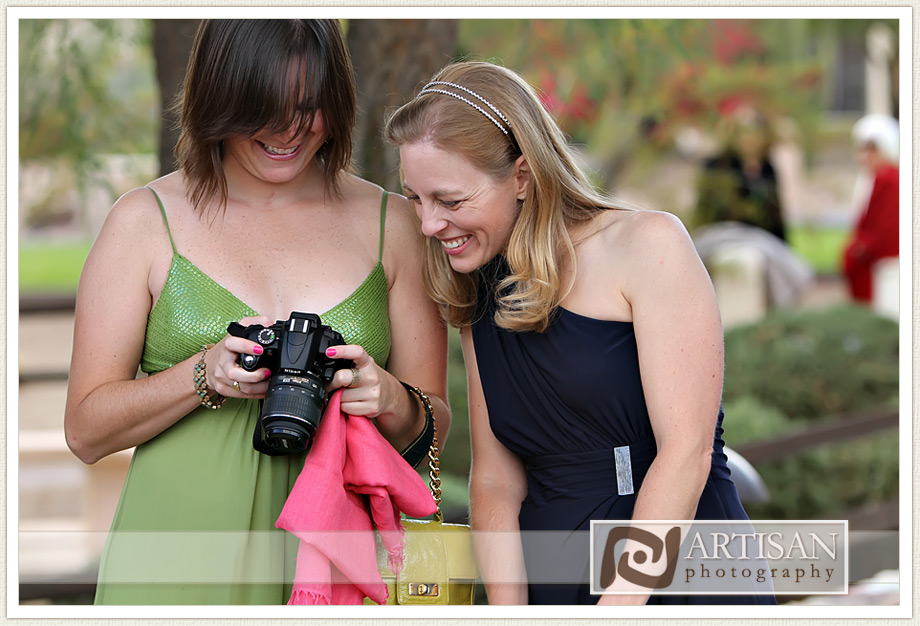 Camelback Inn Wedding Image of guests having fun