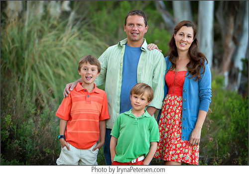 Carlsbad family photo shoot