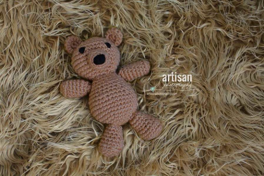 Artisan Photography photo prop little brown bear