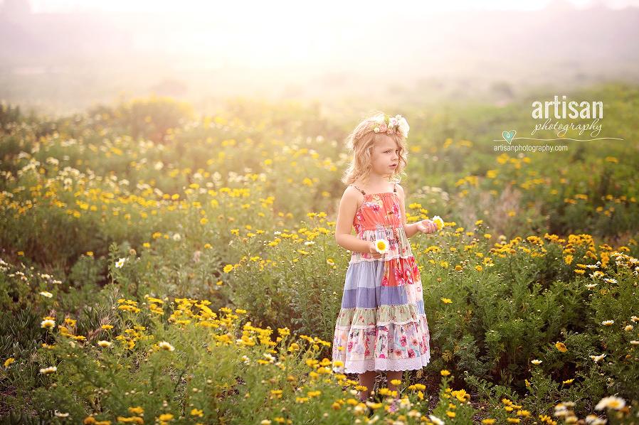 Carlsbad wild  flower fields, family photographer