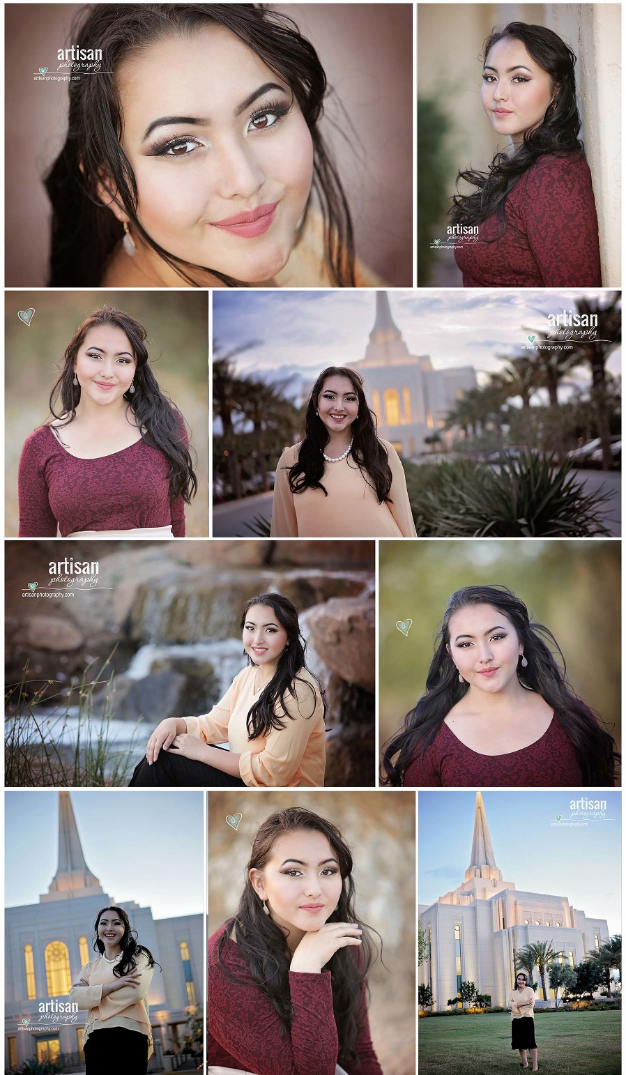 High School Senior photo session outdoor with beautiful outdoor spaces