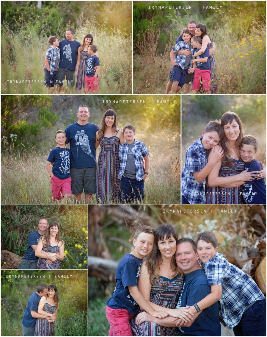 Carlsbad photographer on a California trail- family photos