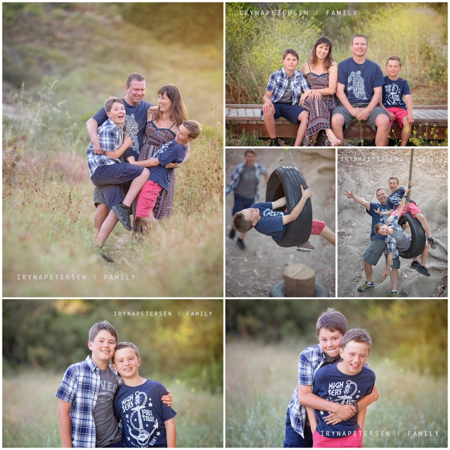Carlsbad photographer on a California trail - family photos