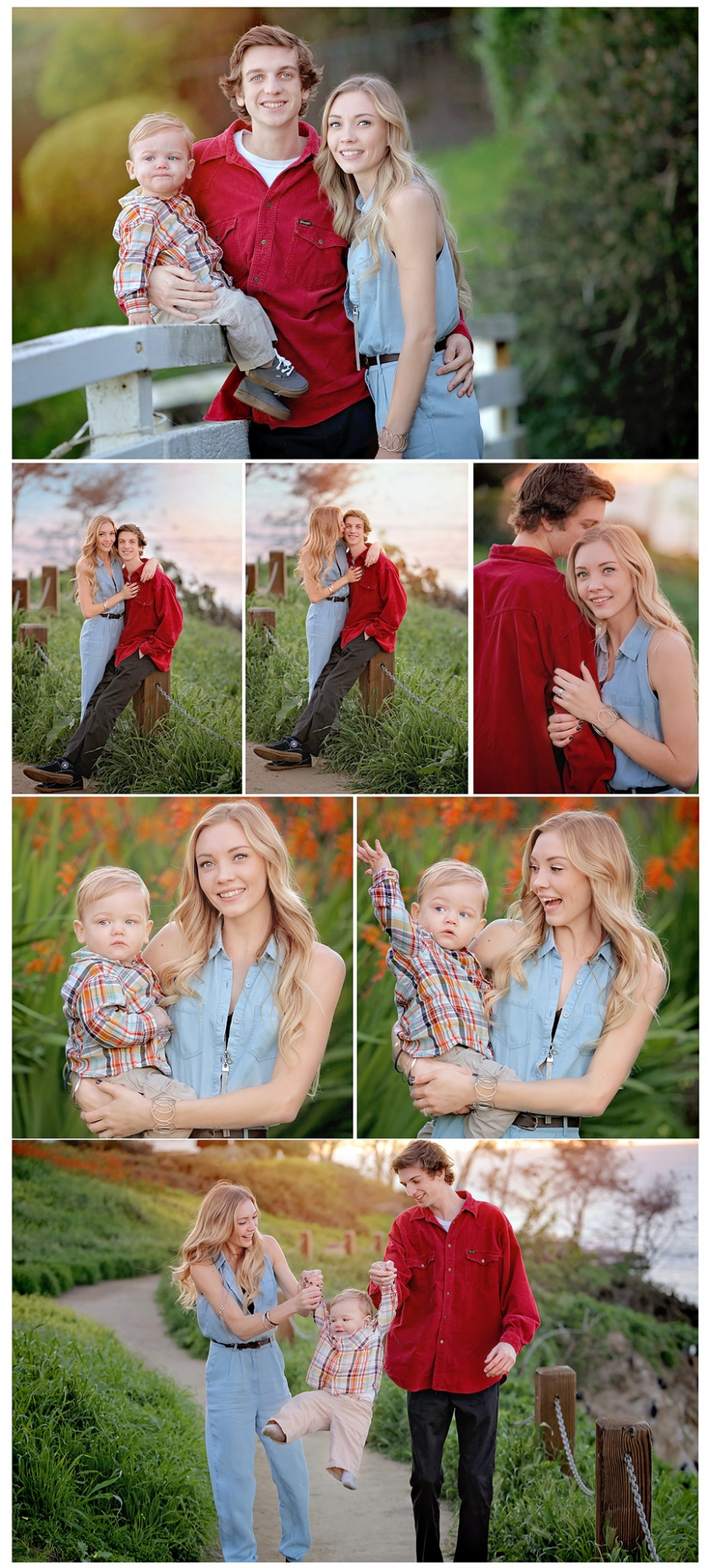 family photo, mom dad and little toddler boy, La Jolla photographer greater San Diego area